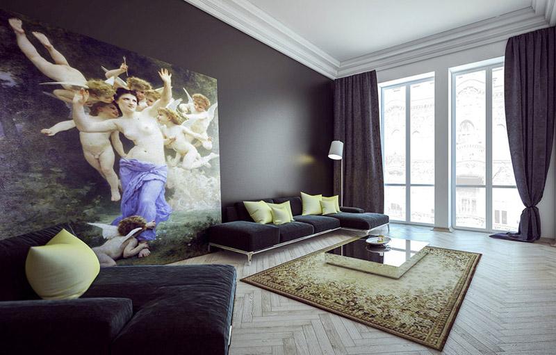 Apartament w łódzkiej kamienicy. Projekt wnętrz: Mo.Siwinska | Monika Siwińska