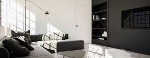Im prościej, tym lepiej – Wnętrza loftu w Łodzi projektu Moniki Siwińskiej
