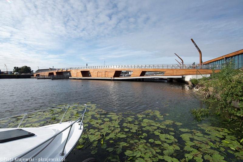 Port Jachtowy w Szczecinie. Projekt: Podczaszy Pracownia Architektury. Zdjęcie: Piotr Krajewski
