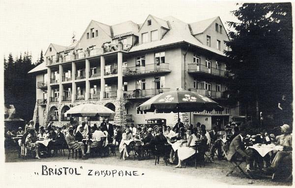 Hotel Bristol, Zakopane.