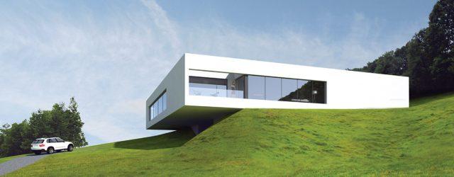 Dom semi-atrialny w Trzebnicy projektu studia arch_it