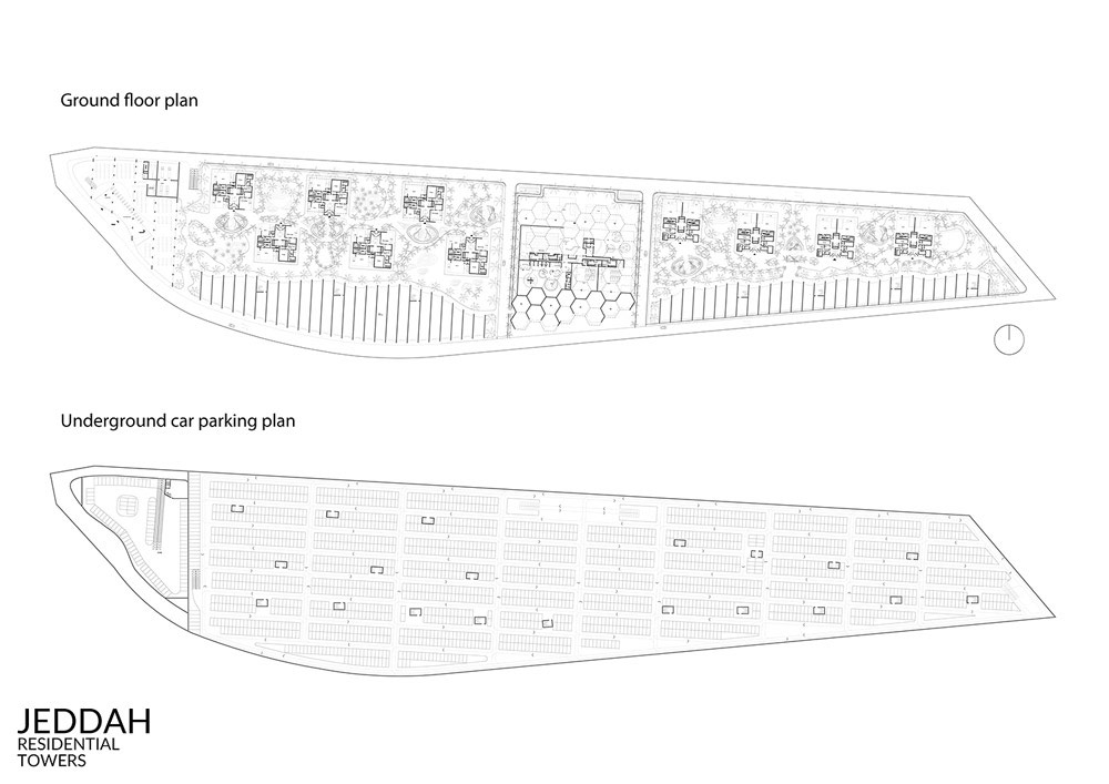 Masterplan Jeddah, Arabia Saudyjska. Projekt: BXBstudio Bogusław Barnaś