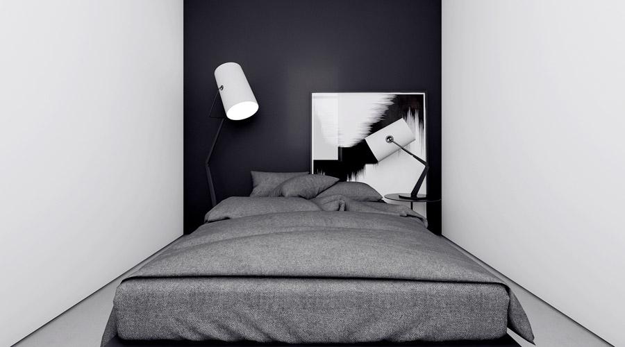 Wnętrze mieszkania w Łodzi. Projekt: INUTI | Łukasz Rząd
