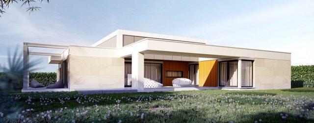 Thouse – Projekt domu inspirowany wrocławskim modernizmem pracowni JABRAARCHITECTS