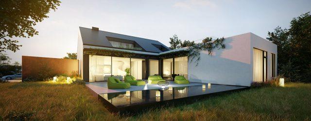 Jeden dom, dwa oblicza – dom w Malmö projektu pracowni KMA Kabarowski Misiura Architekci