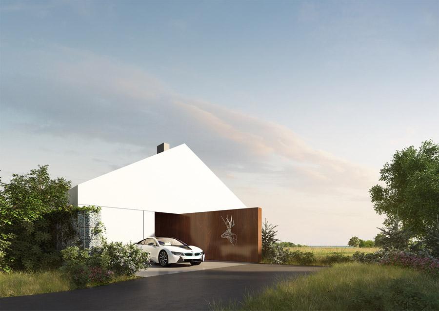 Dom w Malmö, Szwecja. Projekt: KMA Kabarowski Misiura Architekci