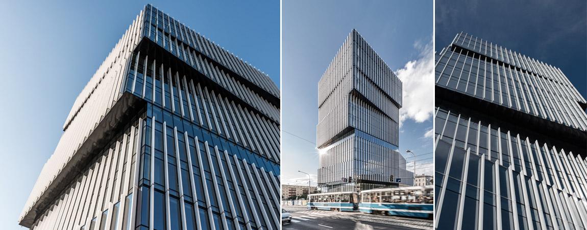 Budynek 'Silver Tower Center', Wrocław. Projekt: Maćków Pracownia Projektowa