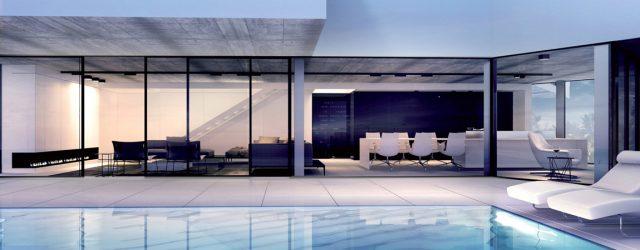 Minimalistyczne wnętrza domu w Hiszpanii polskiej pracowni Mobius Architekci
