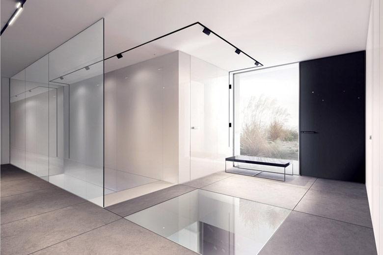 Wnętrza domu w Hiszpanii. Projekt: Mobius Architekci | Przemek Olczyk