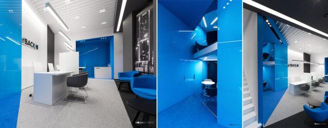 Nowoczesna przestrzeń biurowa firmy getBACK – wnętrza projektu studia Mokaa Architekci