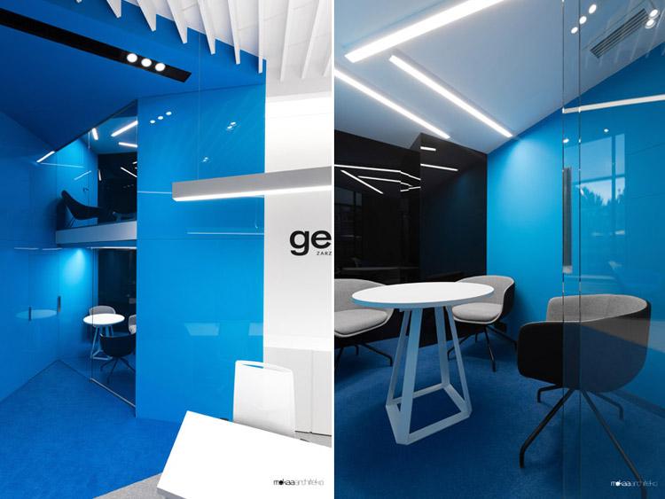 Wnętrza biur firmy getBACK, Warszawa. Projekt: Mokaa Architekci. Zdjęcia: Przemek Kuciński | Niewformie Studio