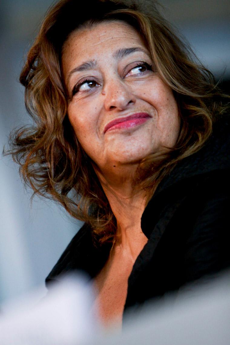 Zaha Hadid. Zdjęcie: By ©Simone Cecchetti