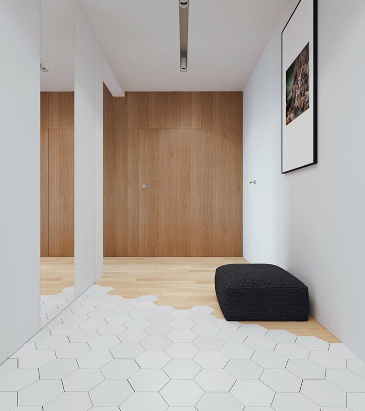 Wnętrza mieszkania w Gdańsku. Projekt: 081 Architekci
