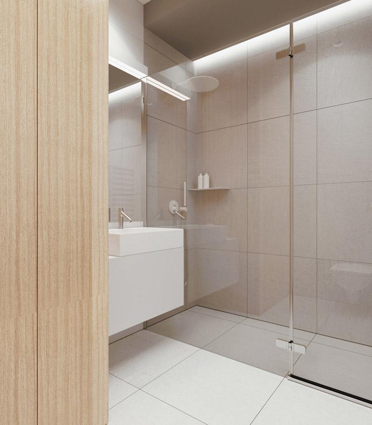 Wnętrza mieszkania w Warszawie. Projekt: 081 Architekci