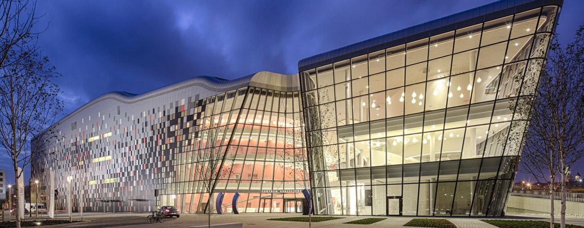 Centrum Kongresowe ICE w Krakowie projektu pracowni Ingarden & Ewý Architekci