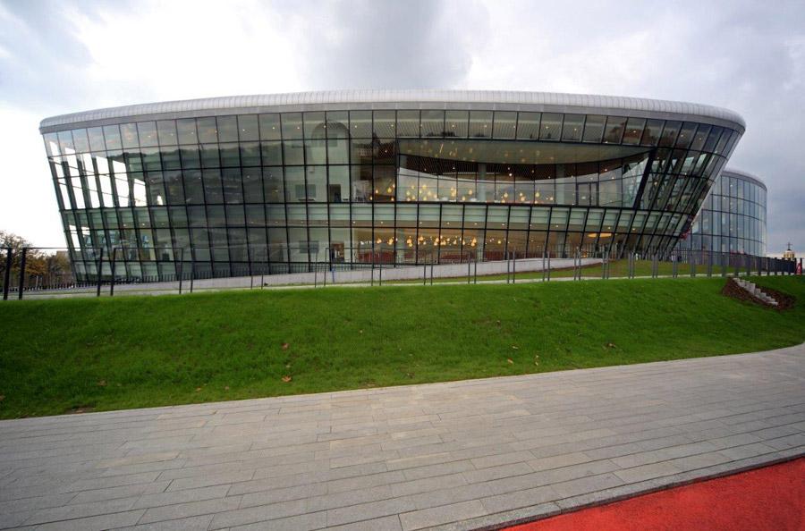 Centrum Kongresowe ICE w Krakowie. Projekt: Ingarden & Ewý Architekci