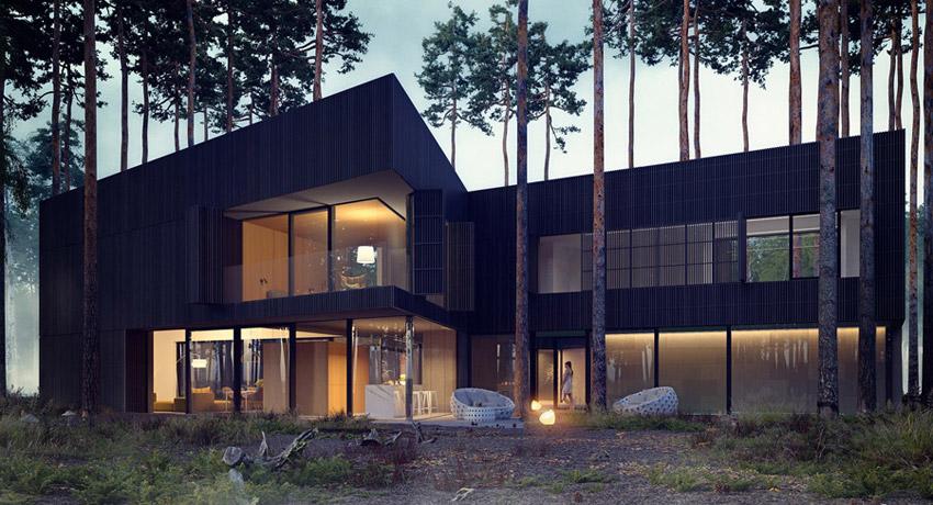 Dom WIND, Izabelin. Projekt: Przemek Olczyk | Mobius Architekci