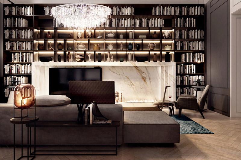 FUSION | Wnętrza apartamentu. Projekt: Mobius Architekci | Przemek Olczyk