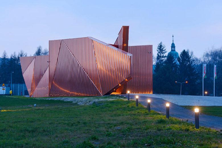Muzeum Ognia w Żorach. Projekt: OVO Grąbczewscy Architekci. Zdjęcie: Archifolio   Tomasz Zakrzewski