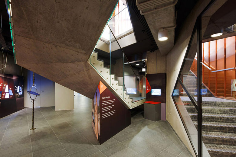Muzeum Ognia w Żorach. Projekt: OVO Grąbczewscy Architekci. Zdjęcie: Archifolio | Tomasz Zakrzewski