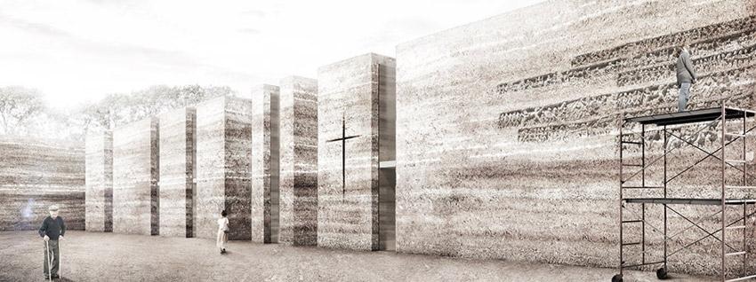 Kościół na osiedlu Nowe Żerniki we Wrocławiu. I Nagroda w konkursie: Adamiczka Consulting