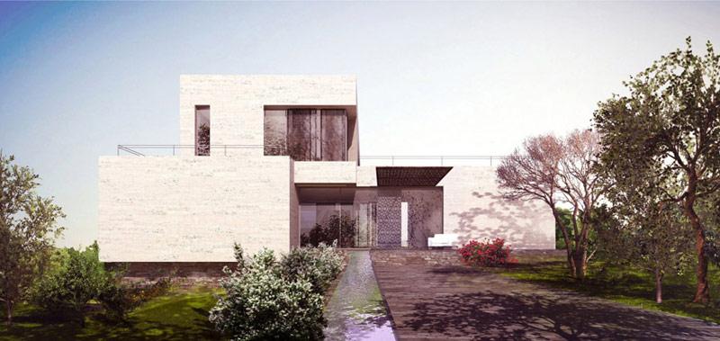 Willa w Jordanii. Projekt: BXBstudio Bogusław Barnaś