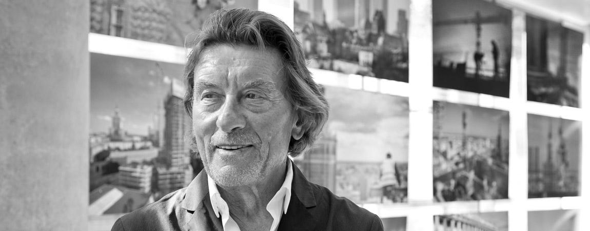 """""""Dobre budynki są jak wino – im starsze, tym lepsze."""" – Wywiad z Helmutem Jahn'em"""