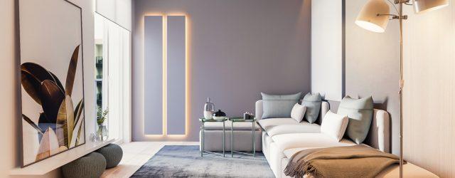 Wnętrza mieszkania w Krakowie projektu Hi-Light Architects