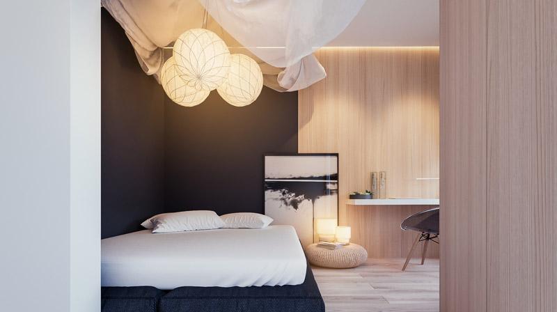 Wnętrza mieszkania w Krakowie. Projekt: Hi-Light Architects