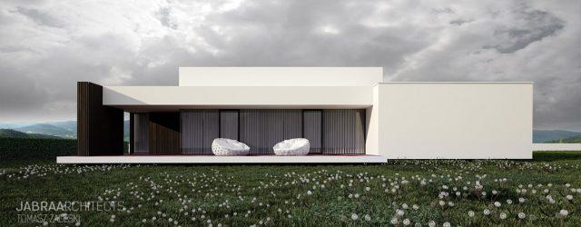 Dom na wzgórzach projektu studia JABRAARCHITECTS