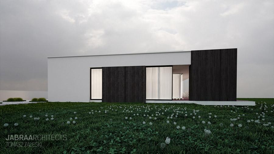 Dom na wzgórzach. Projekt: JABRAARCHITECTS | Tomasz Zaleski