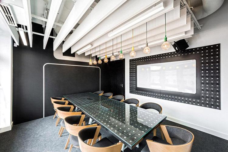 Wnętrza biur Opera Software Wrocław. Projekt wnętrz: mode:lina™