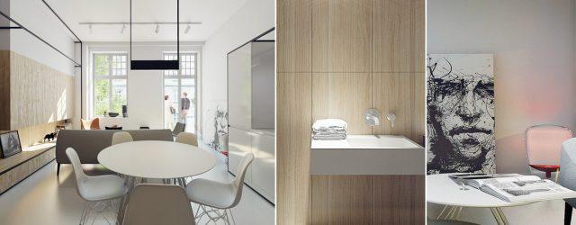 Apartament pod Wawelem projektu pracowni MUS Architects
