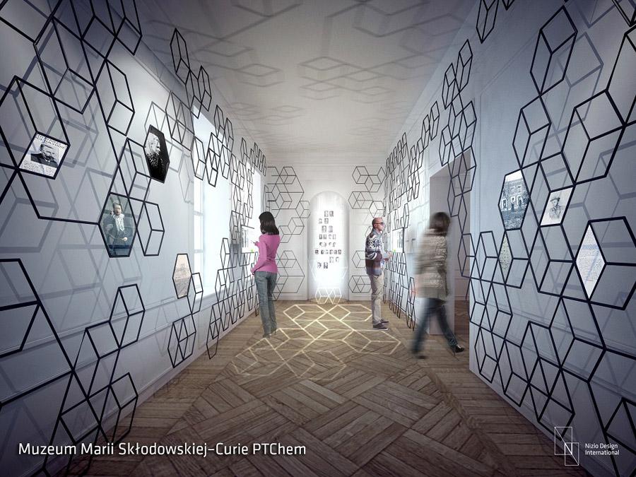 Muzeum Marii Skłodowskiej-Curie w Warszawie. Projekt: ekspozycji: Nizio Design International