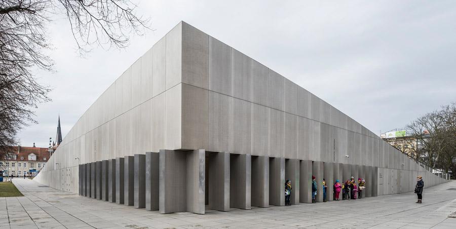 Centrum Dialogu Przełomy w Szczecinie. Projekt: Robert Konieczny - KWK Promes. Zdjęcie: Juliusz Sokołowski