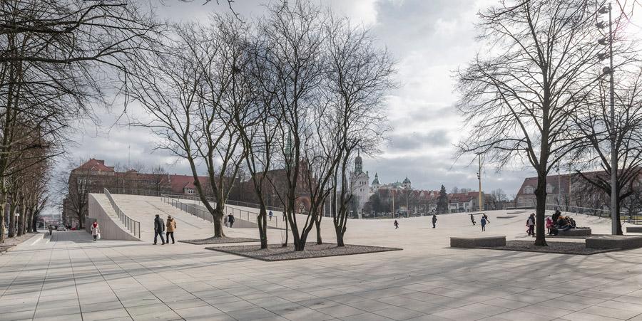 Centrum Dialogu Przełomy, Szczecin. Projekt: Robert Konieczny - KWK Promes