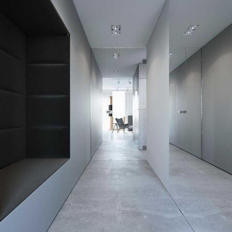 Mieszkanie w Lublinie. Projekt wnętrz: 081 Architekci