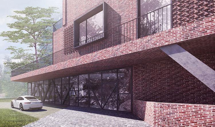 Hotel na Mazurach. Projekt: BXBstudio Bogusław Barnaś