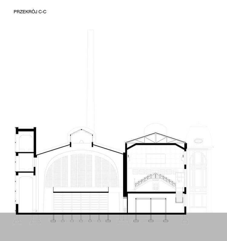 Rewitalizacja elektrowni Scheiblera w Łodzi - projekt dyplomowy Marii Petri