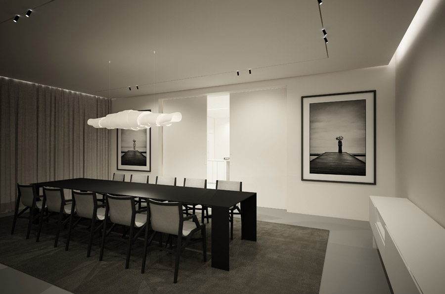 Wnętrza domu jednorodzinnego. Projekt: Studio Architektury Wnętrz PULVA | Adam Pulwicki