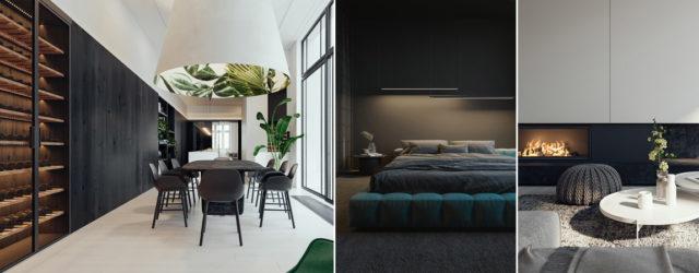 Monochromatyczne wnętrza apartamentu w krakowskiej kamienicy projektu KUOO/ARCHITECTS
