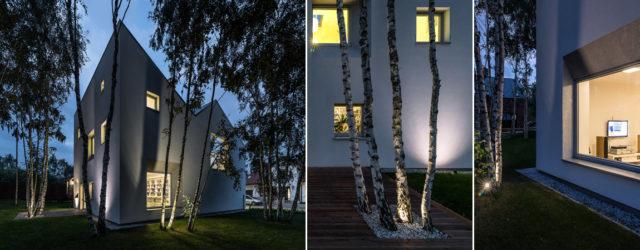 SunGarden – Energooszczędny dom w Poznaniu projektu studia Menthol Architects