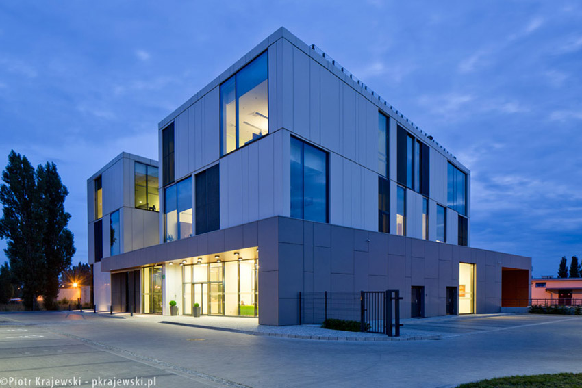 Urząd Dozoru Technicznego w Bydgoszczy. Projekt: PPA podczaszy pracownia architektury. Zdjęcie: Piotr Krajewski