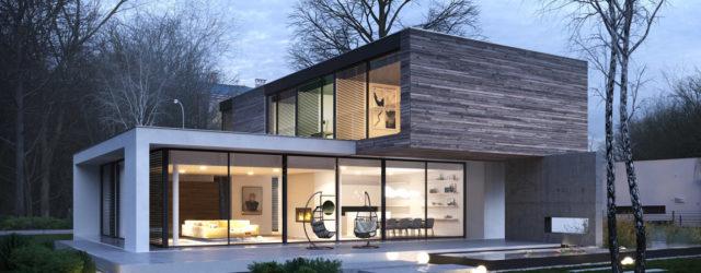 Dom T w podwarszawskim Konstancinie projektu studia STOPROCENT Architekci