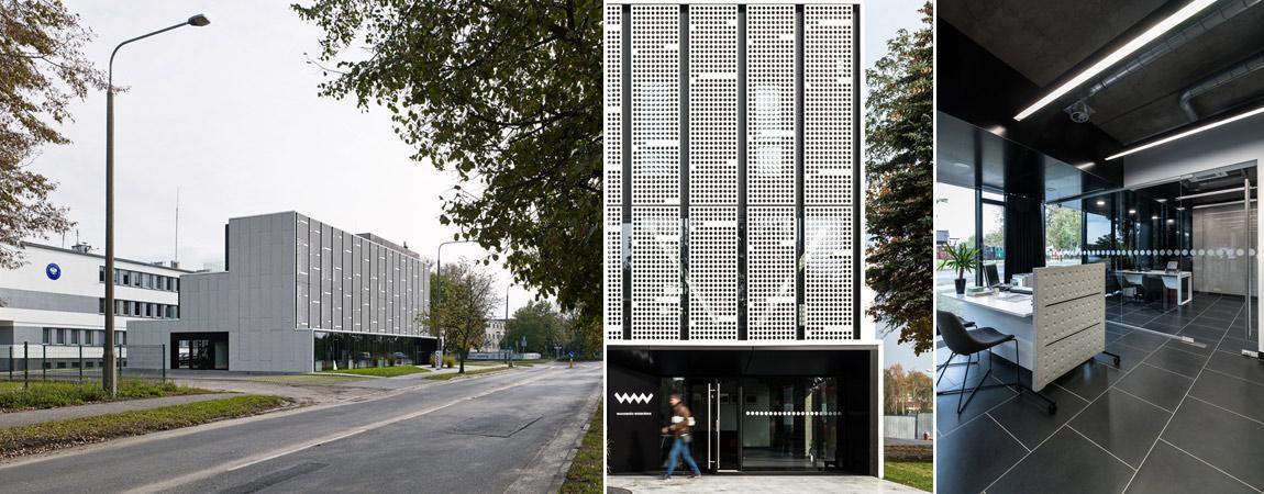 Siedziba Wiadomości Wrzesińskich. Projekt: Ultra Architects