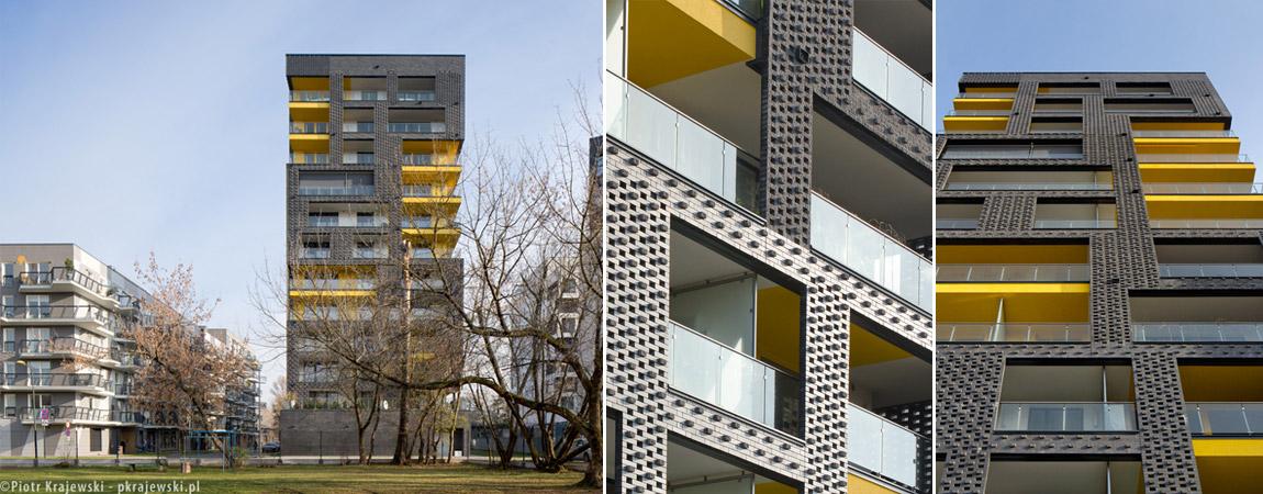Budynek mieszkalny Rebel One w Warszawie. Projekt: Konkret Architekci + WWAA. Zdjęcie: Piotr Krajewski