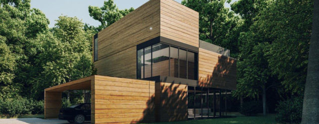 Dom Yenga – Inspirowany otoczeniem projekt domu pracowni 81.WAW.PL