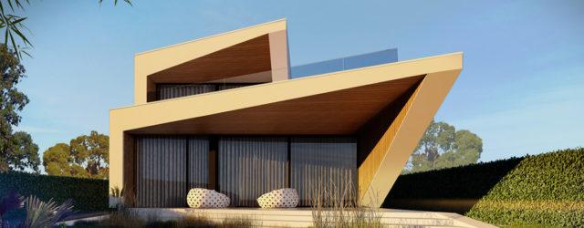 Baltic Yacht House – Projekt domu nad wodami Zalewu Szczecińskiego pracowni JABRAARCHITECTS