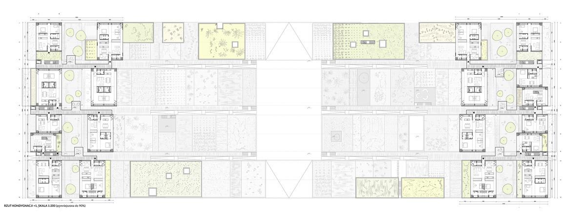 Dyplomy Architektury: Dom w Katowicach. Mieszkanie w ogrodzie. Autor: Maciej Warot