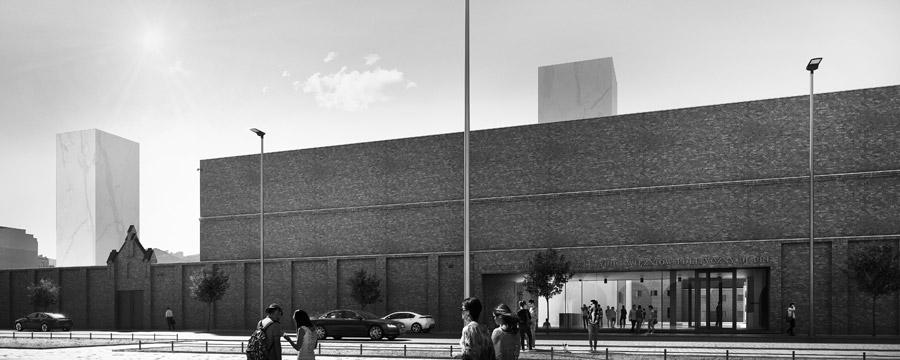 Muzeum Żołnierzy Wyklętych i Więźniów Politycznych PRL w Warszawie. I Nagroda w konkursie: M.O.C. Architekci